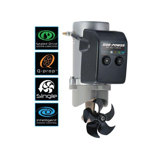 Side-Power bovpropel SE 30 12 V. system