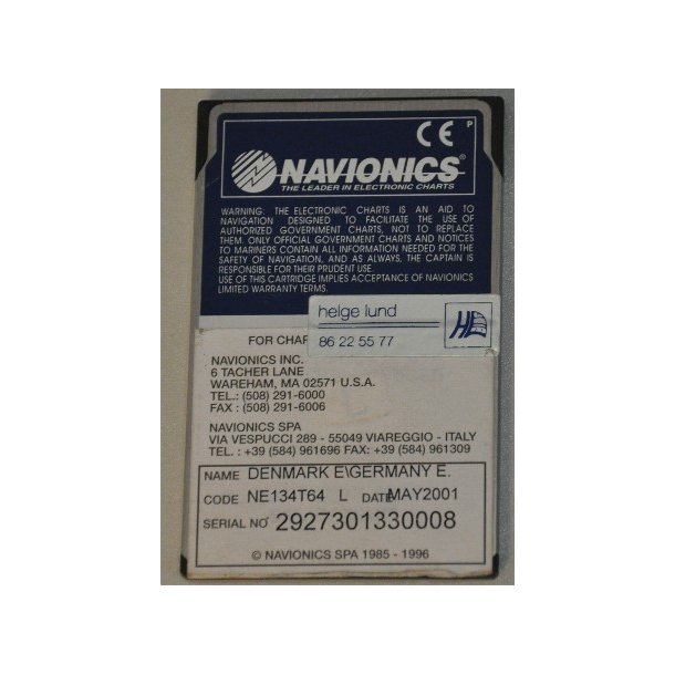 Navionics NE134