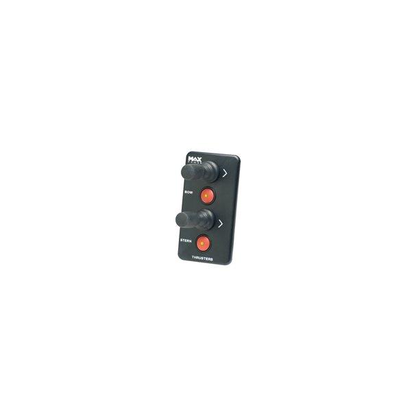 Max-Power Joystik dobbelt Panel
